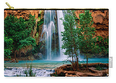 Havasu Cascades Carry-all Pouch by Inge Johnsson