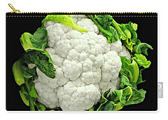Head Of Cauliflower Carry-all Pouch by Diana Angstadt