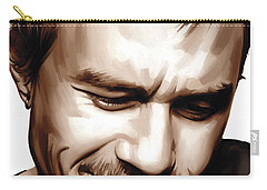 Heath Ledger Artwork Carry-all Pouch by Sheraz A