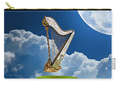 Heavenly Harp Carry-all Pouch by Marvin Blaine