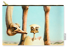Hello Mum Carry-all Pouch by Andrew Farley
