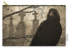 Her Graveyard Carry-all Pouch by Gothicolors Donna