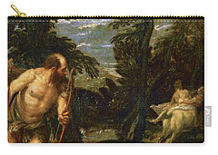 Hercules Deianira And The Centaur Nessus Carry-all Pouch by Paolo Veronese