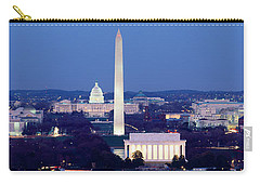 High Angle View Of A City, Washington Carry-all Pouch by Panoramic Images