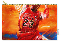 His Airness Carry-all Pouch by Lourry Legarde
