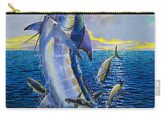 Hit And Miss Off0084 Carry-all Pouch by Carey Chen