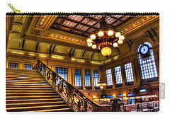 Hoboken Terminal Carry-all Pouch by Anthony Sacco