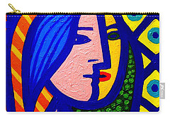 Homage To Pablo Picasso Carry-all Pouch by John  Nolan