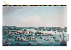 Hong Kong Harbor Carry-all Pouch by Cantonese School