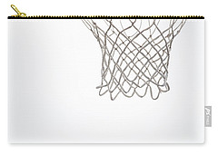 Hoops Carry-all Pouch by Karol Livote