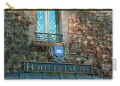 Hotel De La Cite Carry-all Pouch by France  Art