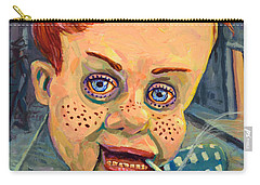 Howdy Von Doody Carry-all Pouch by James W Johnson