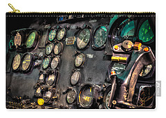 Huey Instrument Panel Carry-all Pouch by David Morefield