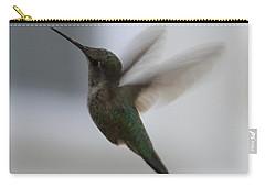 Hummingbird In Flight Carry-all Pouch by Carol Groenen