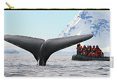 Humpback Whale Fluke  Carry-all Pouch by Tony Beck