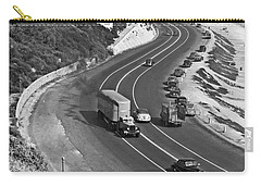 Hwy 101 In Southern California Carry-all Pouch by Underwood Archives