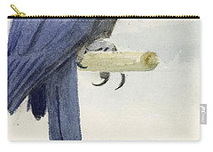 Hyacinth Macaw Carry-all Pouch by Henry Stacey Marks