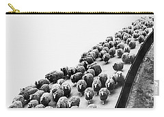 Hyde Park Sheep Flock Carry-all Pouch by Underwood Archives