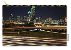 I-35e Dallas Carry-all Pouch by Rick Berk