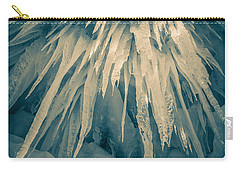 Ice Cave Carry-all Pouch by Edward Fielding