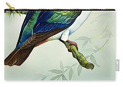 Imperial Fruit Pigeon Carry-all Pouch by Bert Illoss
