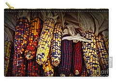 Indian Corn Carry-all Pouch by Elena Elisseeva