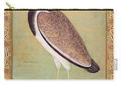 Indian Lapwing Carry-all Pouch by Mansur