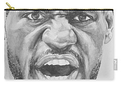 Intensity Lebron James Carry-all Pouch by Tamir Barkan