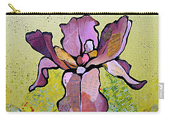 Iris II Carry-all Pouch by Shadia Derbyshire