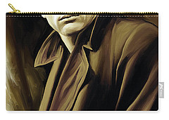James Dean Artwork Carry-all Pouch by Sheraz A