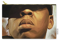 Jay-z Artwork Carry-all Pouch by Sheraz A