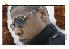 Jay Z Carry-all Pouch by Marvin Blaine