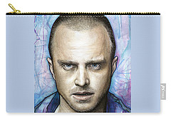Jesse Pinkman - Breaking Bad Carry-all Pouch by Olga Shvartsur