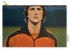 Johan Cruyff Oranje Carry-all Pouch by Paul Meijering
