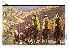 Journey Of The Magi Carry-all Pouch by Tissot