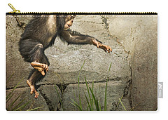 Jump For Joy Carry-all Pouch by Jamie Pham