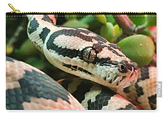 Jungle Python Carry-all Pouch by Kelly Jade King