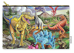 Jurassic Jubilee Carry-all Pouch by Mark Gregory