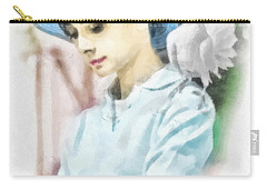 Just Audrey Carry-all Pouch by Mo T