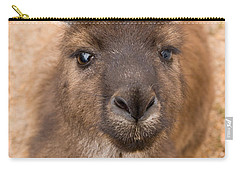 Kangaroo Island Kangaroo Carry-all Pouch by Marie Read