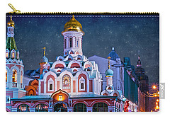 Kazan Cathedral. Red Square. Moscow Russia Carry-all Pouch by Juli Scalzi