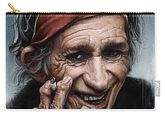 Keith Richards Carry-all Pouch by Andre Koekemoer