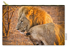 King And Queen Carry-all Pouch by Adam Romanowicz