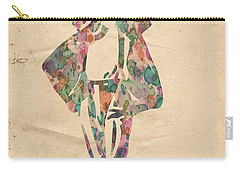 King Of Pop In Concert No 11 Carry-all Pouch by Florian Rodarte