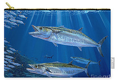 Kingfish Reef Carry-all Pouch by Carey Chen