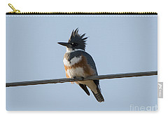Kingfisher Profile Carry-all Pouch by Mike Dawson