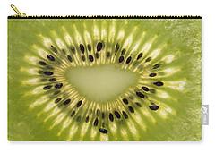 Kiwi Detail Carry-all Pouch by Steve Gadomski