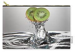 Kiwi Freshsplash Carry-all Pouch by Steve Gadomski