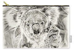 Koala Garage Girl Carry-all Pouch by Remrov