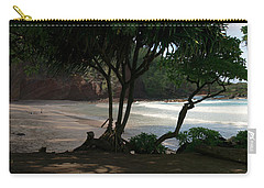 Koki Beach Hana Maui Hawaii Carry-all Pouch by Sharon Mau